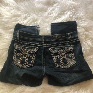 LA Idol Capri Jeans